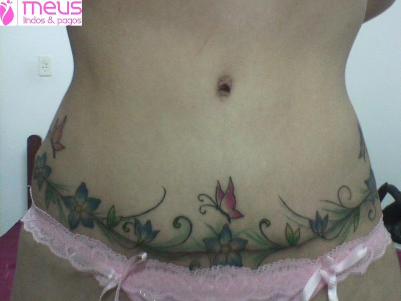 ... Pagos! » Arquivos » Tatuagem sobre a cicatriz de abdominoplastia